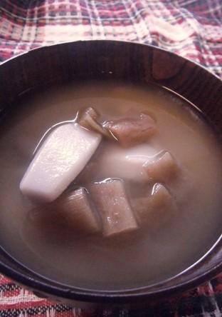 里芋とずいきの親子汁