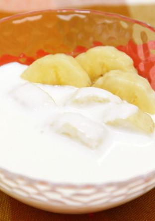 バナナ ヨーグルト