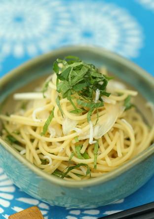 ちょこっと1品❢青しそ冷製スパゲティ