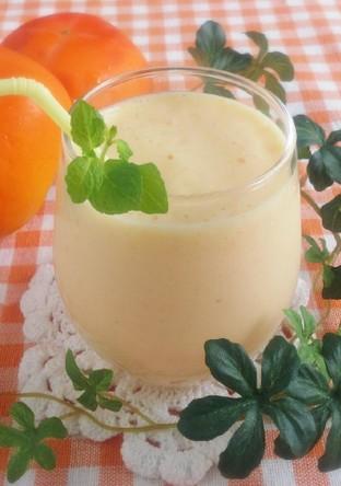 柿のミックスジュース