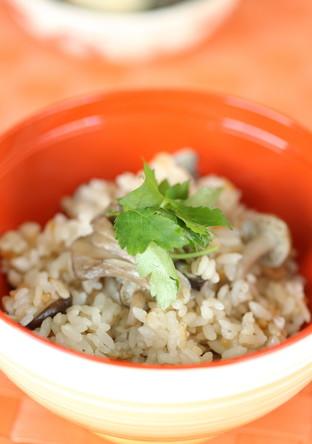 きのこで秋の味覚♫炊き込みご飯