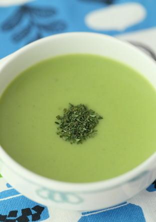 青臭みの少ないグリングリーンスープ
