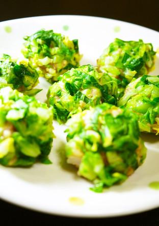 豆腐しゅうまい 春キャベツに包まれて