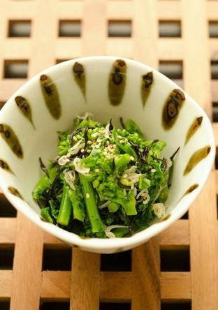 栄養満点 菜の花の常備サラダ