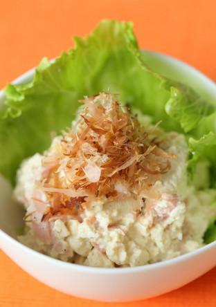 豆腐とツナの和風マヨサラダ