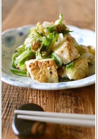白ねぎと豆腐チャンプルー 作りおき