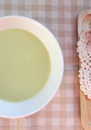簡単 グリンピースのミルクスープ
