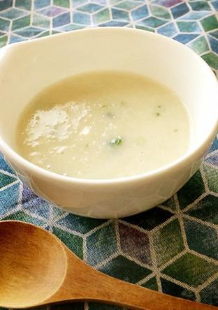 癒し系 長いものとろろんスープ