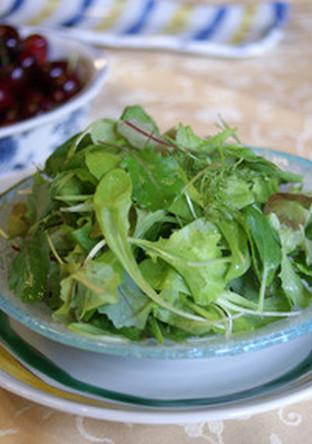 ベビーリーフのサラダ