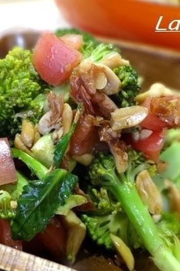 ブロッコリーとトマトのバルサミコ酢サラダ