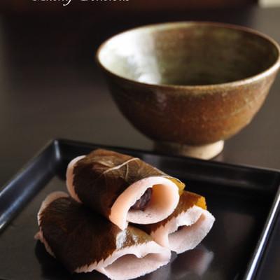 混ぜるだけ簡単 本格的なさくら餅~関東風