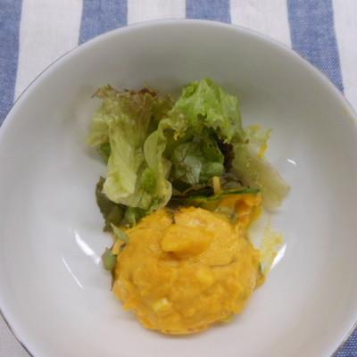 チーズ inかぼちゃサラダ