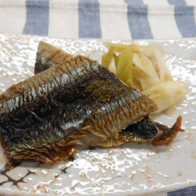 秋刀魚の蒲焼き