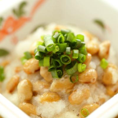 シンプルな納豆おろし和え