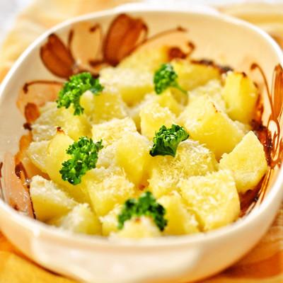 お弁当にも 簡単 ポテトの塩麹マヨ焼き