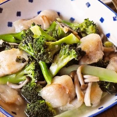 簡単中華 たらとブロッコリーの旨塩炒め