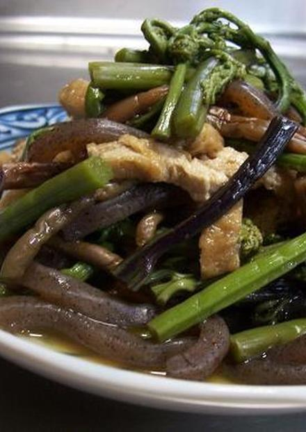 ぜんまい わらび 山菜の煮物