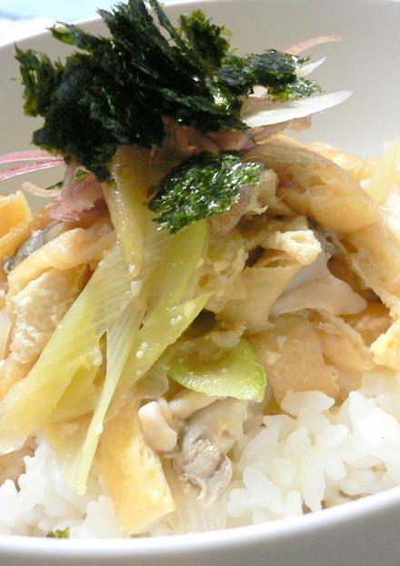 深川丼 あさりの味噌汁ぶっかけ飯