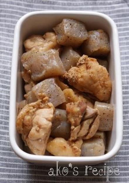 常備菜にも こんにゃくと鶏のうまうま煮