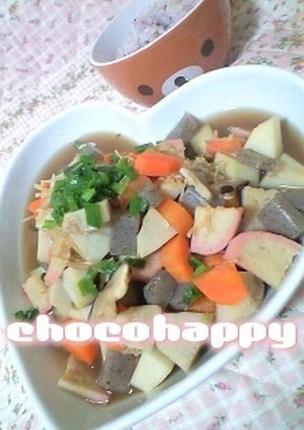 新潟の郷土料理 里芋の煮物 のっぺ