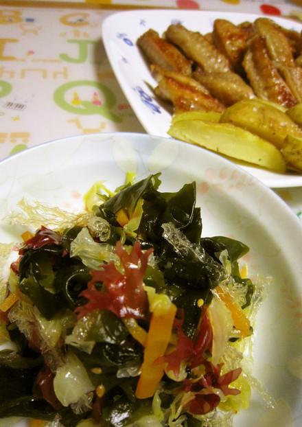 ミネラルたっぷり 海藻サラダ