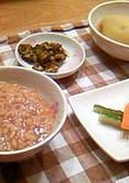 茶がゆ 和歌山の朝食