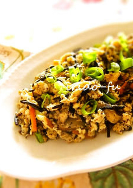 ひじき入り 炒り豆腐