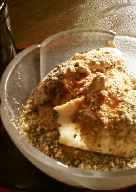 超簡単絹豆腐のゴマ きなこ 黒蜜デザート