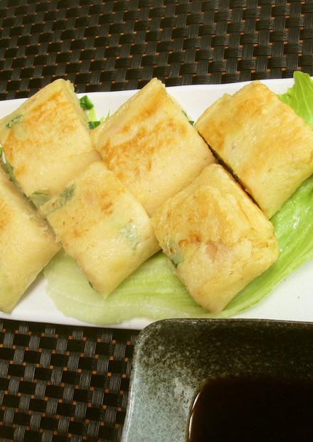 沖縄郷土料理のヒラヤーチー