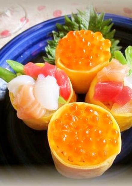 節分やお誕生会に おしゃれに海鮮お寿司