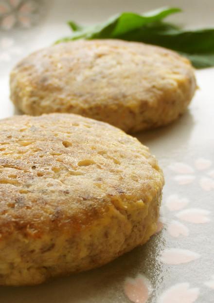 低糖質 高野豆腐入り鯖のハンバーグ