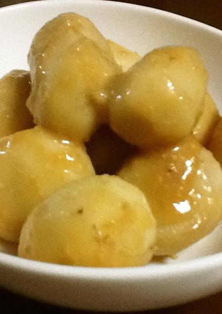 里芋の味噌バター煮
