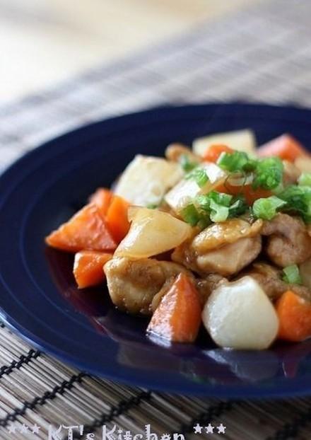 鶏肉とこんにゃくのコチュジャン炒め煮
