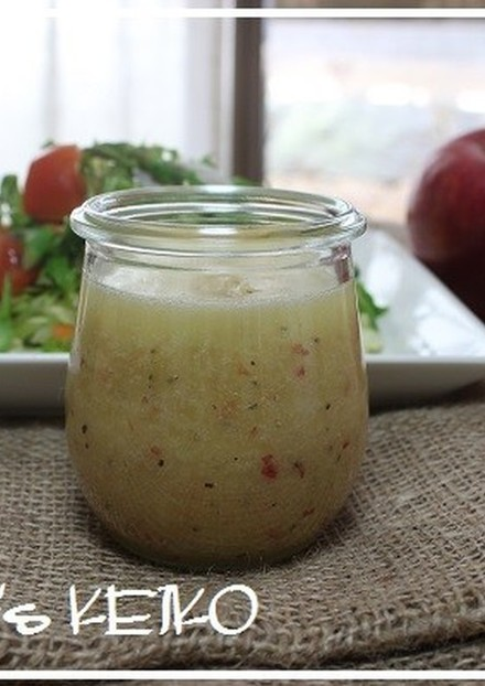 農家のレシピ りんごのドレッシング