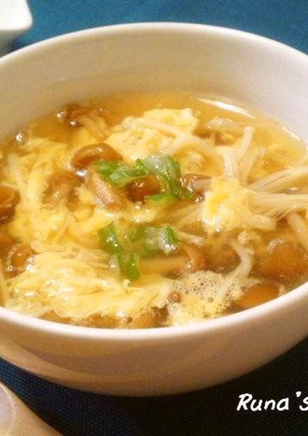 とろ~り なめこスープ