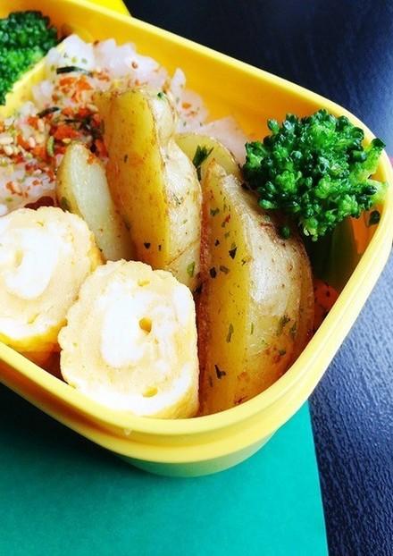 お弁当に のり塩ポテトフライ