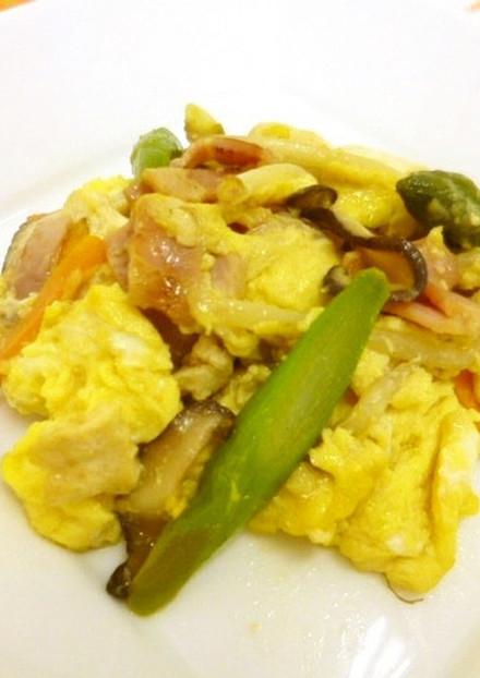 卵入り豆腐チャンプルー