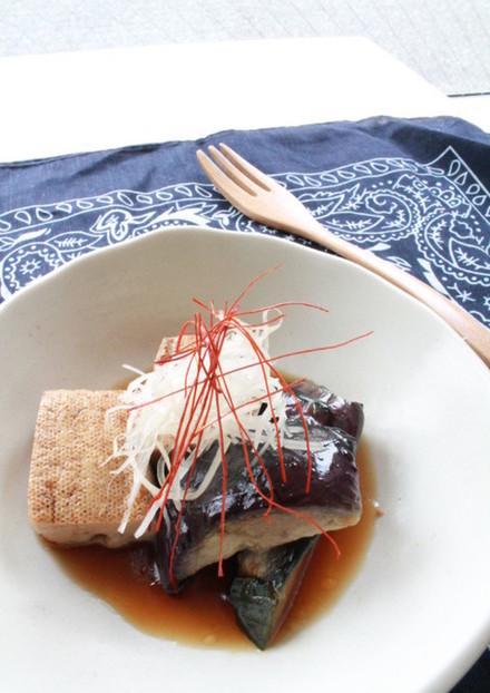 焼豆腐の含め煮