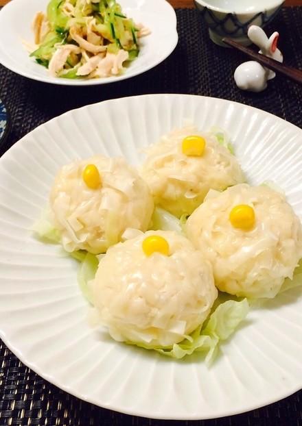 ダイエット中も 豆腐&鶏ひき肉シュウマイ