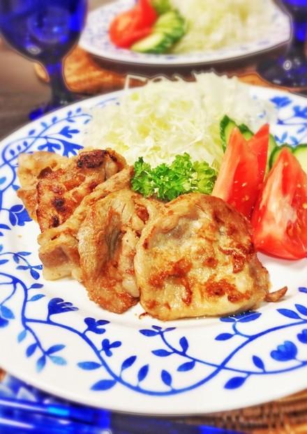 大人の味付け 豚の生姜焼き