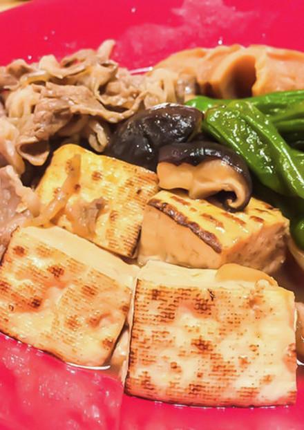 ボリュームたっぷり★ごちそう肉豆腐