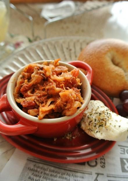 簡単 万能 鯖缶と切り干し大根トマト煮