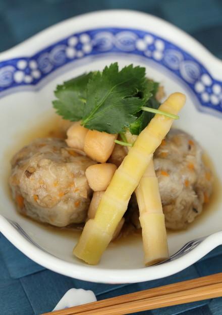 手作り海老芋まんじゅうの煮物