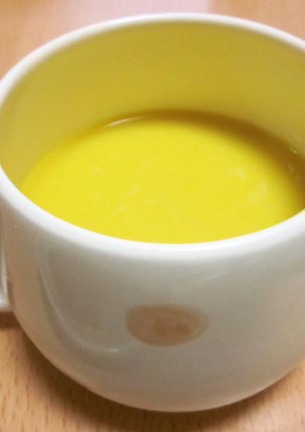 冷たい☆かぼちゃと豆腐の冷製スープ