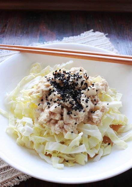 何コレ 簡単 豆腐とキャベツのサラダ