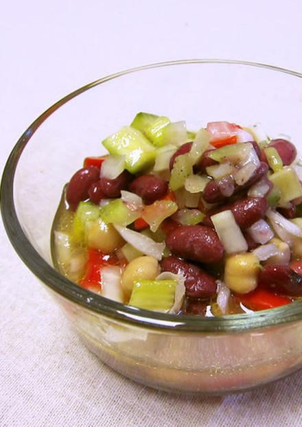 マリネード ビーン サラダ