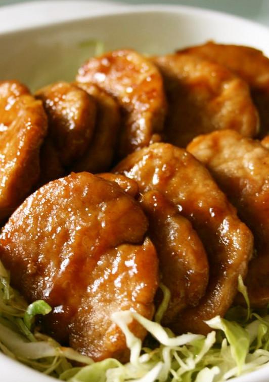 ごはんがすすむ 豚ヒレのカレー風味焼き