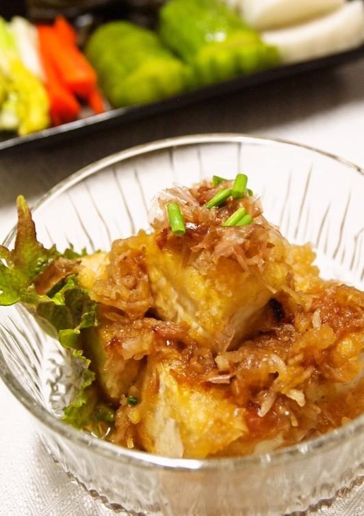 簡単 ポン酢で激ウマ揚げだし豆腐