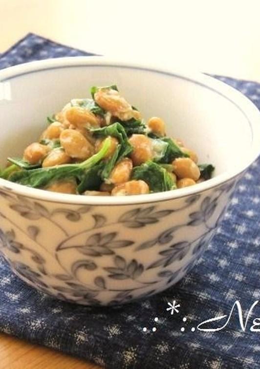 ネバネバ モロヘイヤ納豆