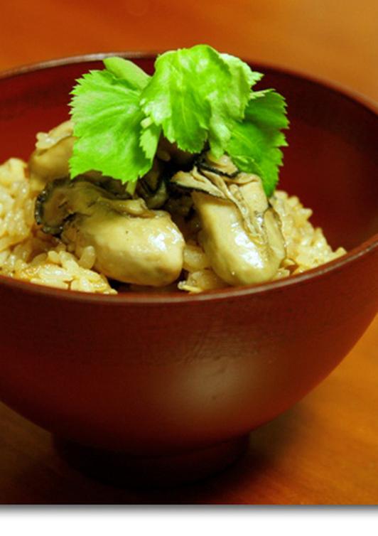 牡蠣の炊き込みご飯 牡蠣ご飯